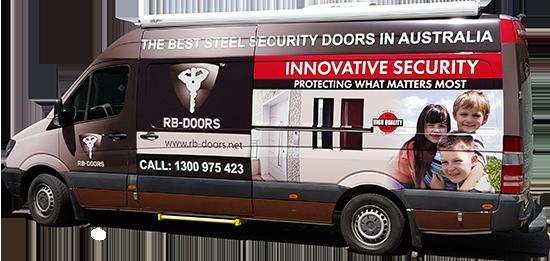 RB Doors Van